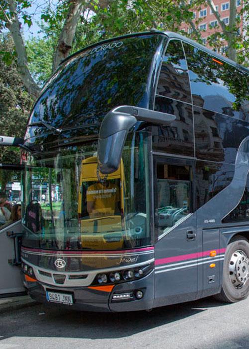 Autobús descapotable