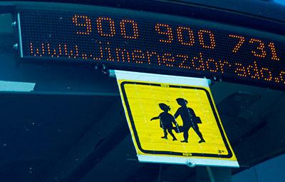 alquiler autobuses rutas escolares
