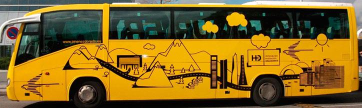 Alquiler de autobuses para eventos empresariales