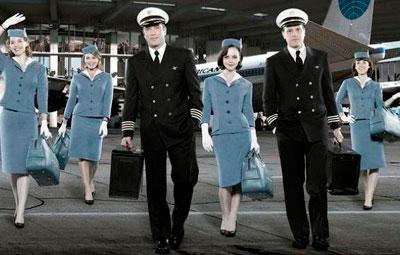 alquiler autobus personal de compañías aéreas