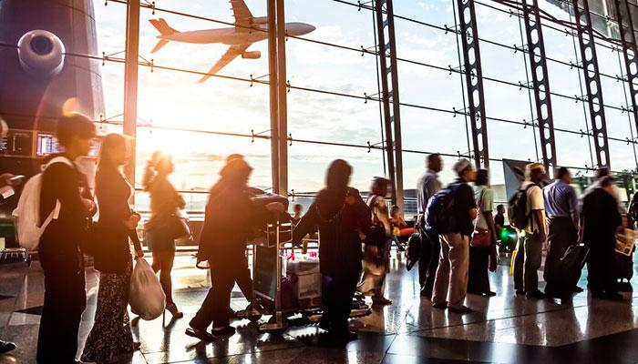 Alquiler de autobuses para compañías aéreas