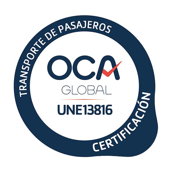 certificado UNE-13816 Jimenez Dorado