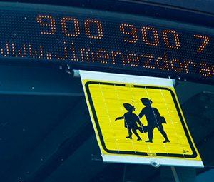Carte de transporte escolar Jimenez Dorado