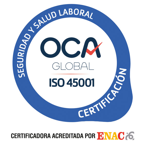 certificado ISO-45001 Jimenez Dorado