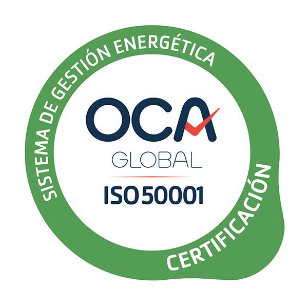 certificado ISO-50001 Jimenez Dorado