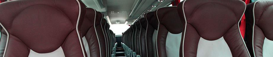 Interior autobús Jimenez Dorado